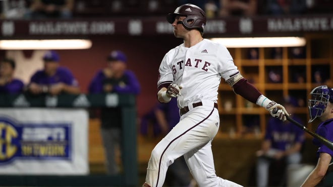 Mississippi State sophomore shortstop Jordan Westburg has been a brilliant batter for the Bulldogs this season, but he leads the team in errors with nine.