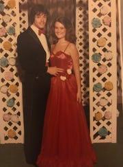 Dogwood Elementary School Principal Lana Shelton-Lowe at her prom