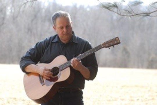 """Local singer-songwriter Scott Greeson recently released his third solo project, the album """"Riverside."""""""