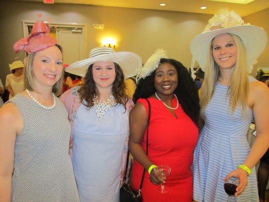 Heather Gillard, Adrianne Reed, Bianca Cook and Lizzie Domingue
