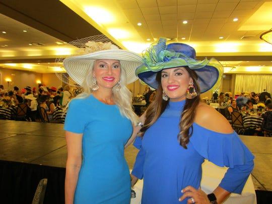 Jana Duncan and Rachel Curry