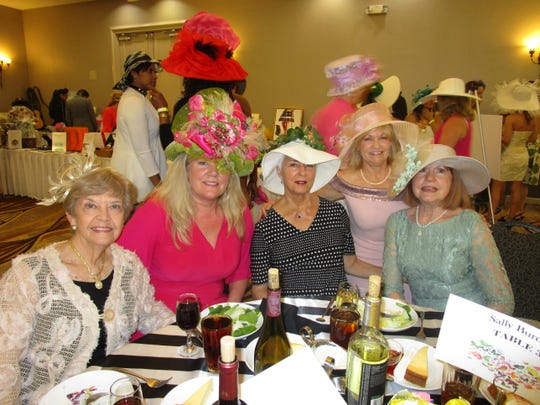 Glyn Kelly, Rebecca Taylor, Anne Broussard, Cindy Dore and Veronica Rodrigue