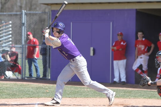 Fowlerville second baseman Christian Montrose made first-team all-county last season.