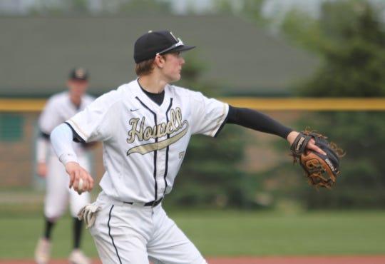 Infielder Evan Mazer is one of four returning starters for Howell's baseball team.