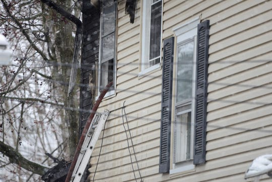 Mansfield Fire Department responded to 565 Garfield Place for a fire on Sunday, March 31, 2019.