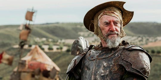 "Jonathan Pryce is Don Quixote (or is he?) in Terry Gilliam's ""The Man Who Killed Don Quixote,"" which screens April 10 at the Paradiso and Collierville cinemas."