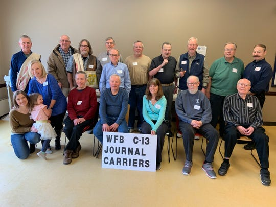 Former Milwaukee Journal carriers and others showed up for a reunion at the Whitefish Bay Public Library. They reminisced about Joe Booz, the longtime manager at delivery station C-13 in Whitefish Bay. Booz died last year at age 96.
