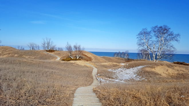 The Wisconsin DNR introduced a pricing plan last year that charges higher prices for high-demand parks. Early signals indicate that the plan seems to be working. A trail at Kohler-Andrae State Park in Sheboygan County.