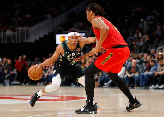 Tim Frazier played all 53 minutes against the Hawks on Sunday, possibly a preview of the final three regular-season games as the Bucks rest starters for the playoffs.