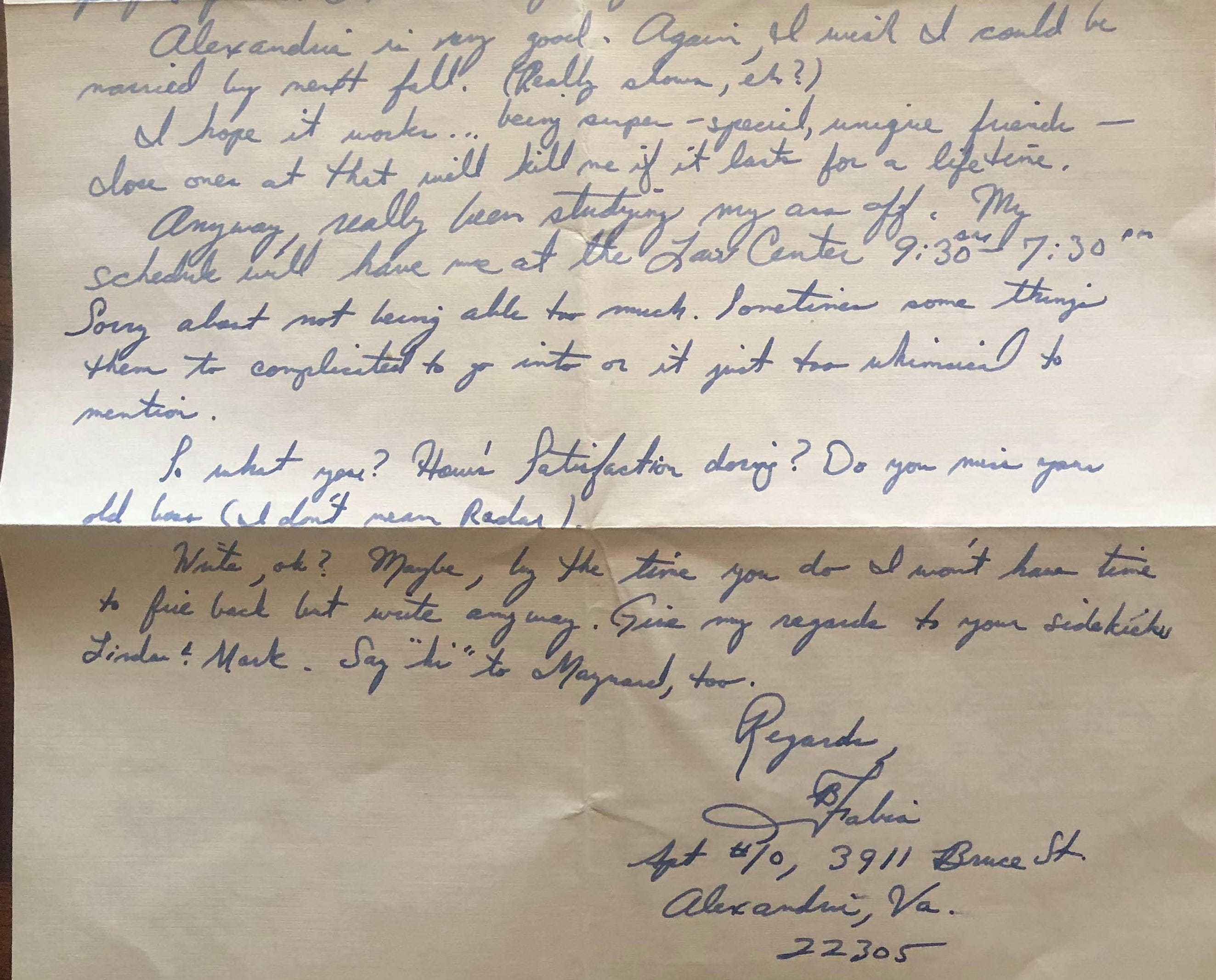 A long lost letter from 1974 was found in March 2019 on The Hop MKE. The person who found it wants to return it to the owner.