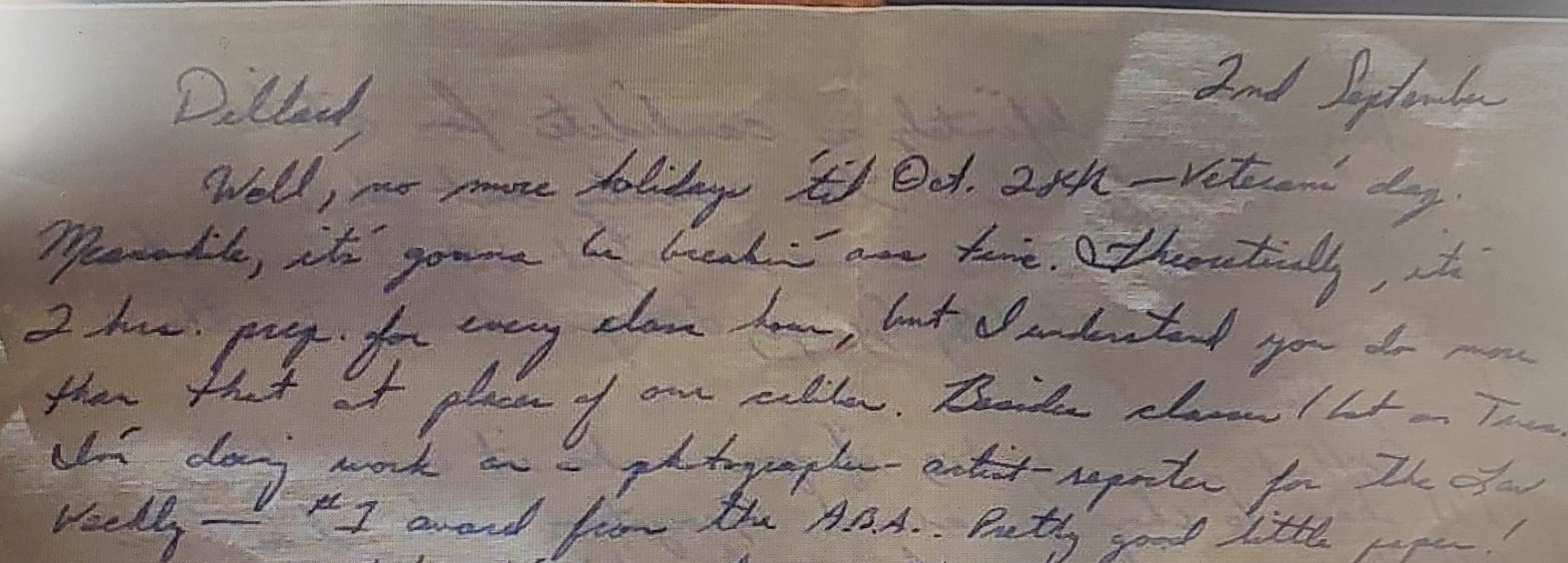 The sender of a 1974 letter found on The Hop MKE writes about a job at the Virginia Law Weekly.