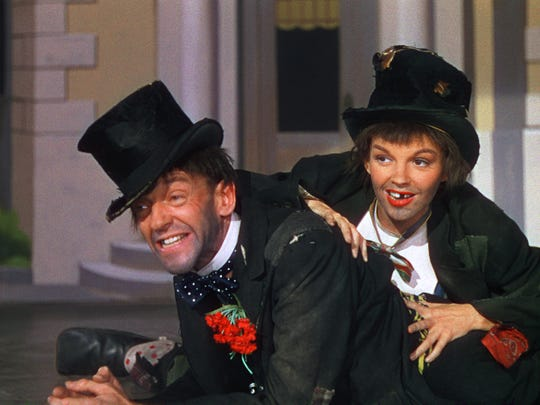 "Fred Astaire and Judy Garland are a couple of swells in the 1948 musical ""Easter Parade."""