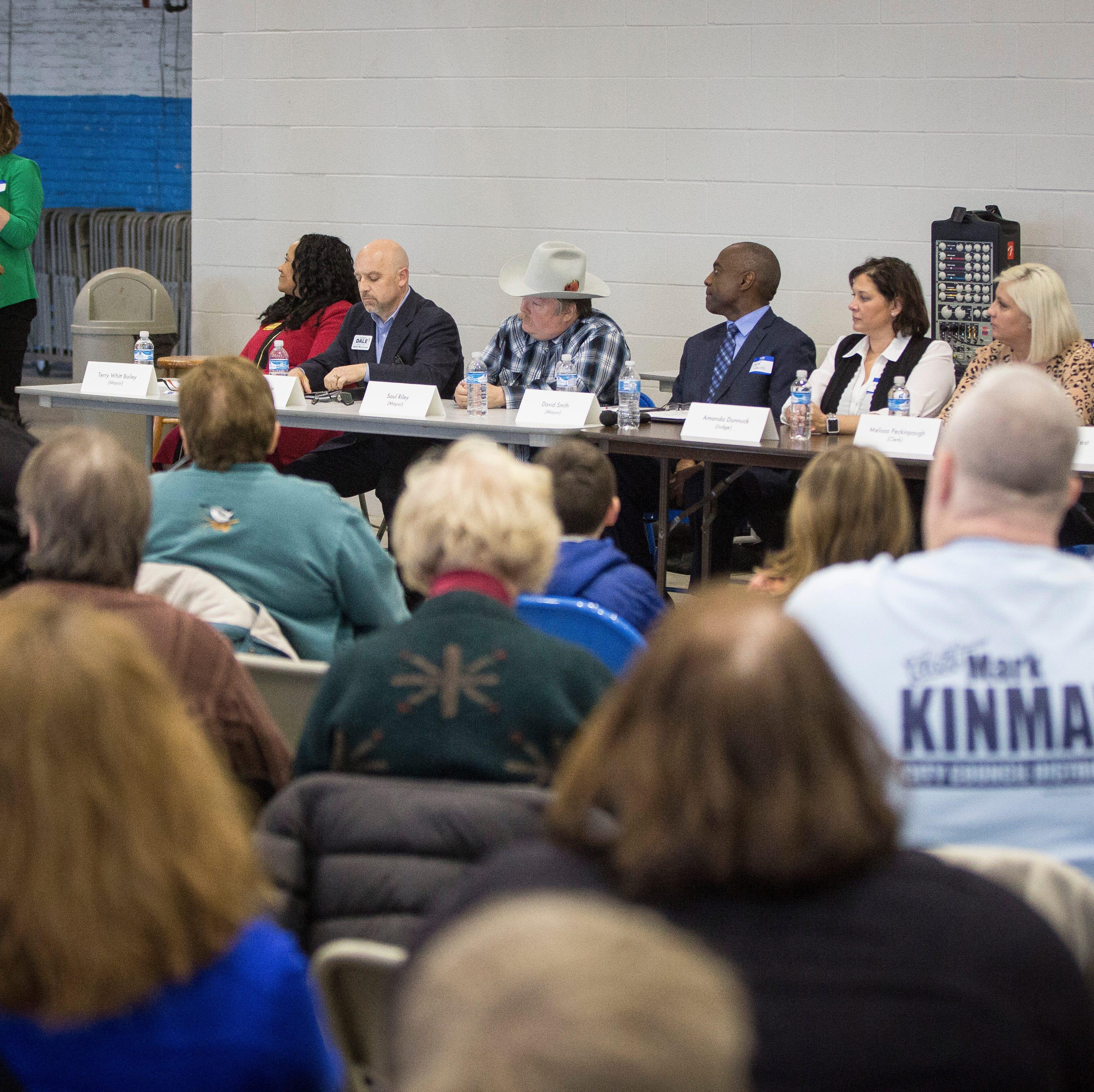 Focus on corruption overtakes Democrat forum