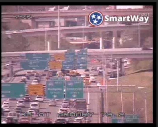 A fatal crash has shut down the on-ramps from Interstate 65 outbound to Interstate 440 in downtown Nashville, Metro police confirmed.