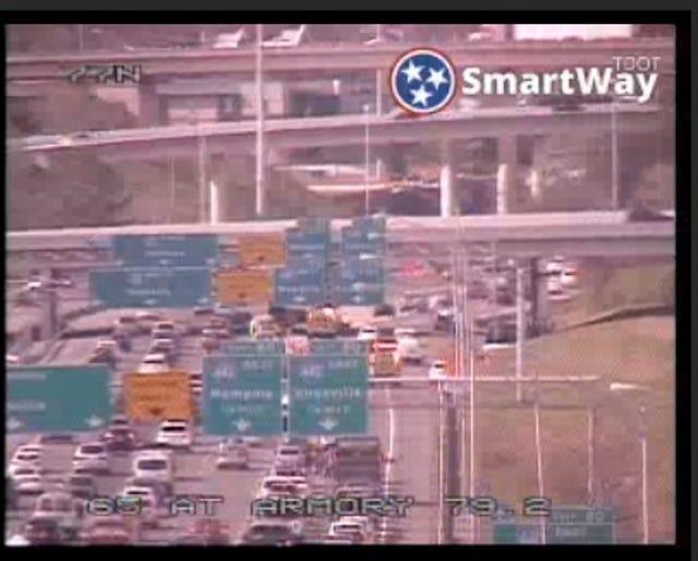 Nashville traffic: Fatal crash closes I-65 on-ramp to I-440 downtown