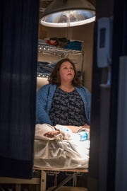 "Chrissy Metz portrays mother Joyce Smith in the new movie ""Breakthrough,"" which will be in theaters April 17."