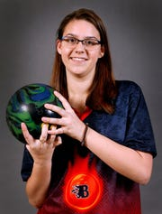 Baileigh Snow a Blackman bowler on Thursday, March 29, 2018.