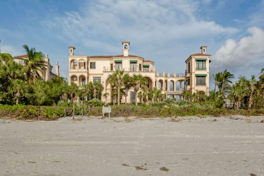 The four-story home, located at 7607 Bay Colony Drive, was the third highest price sale ever in Pelican Bay area and the first sale in The Strand, a private neighborhood in the Bay Colony community, in more than three years.