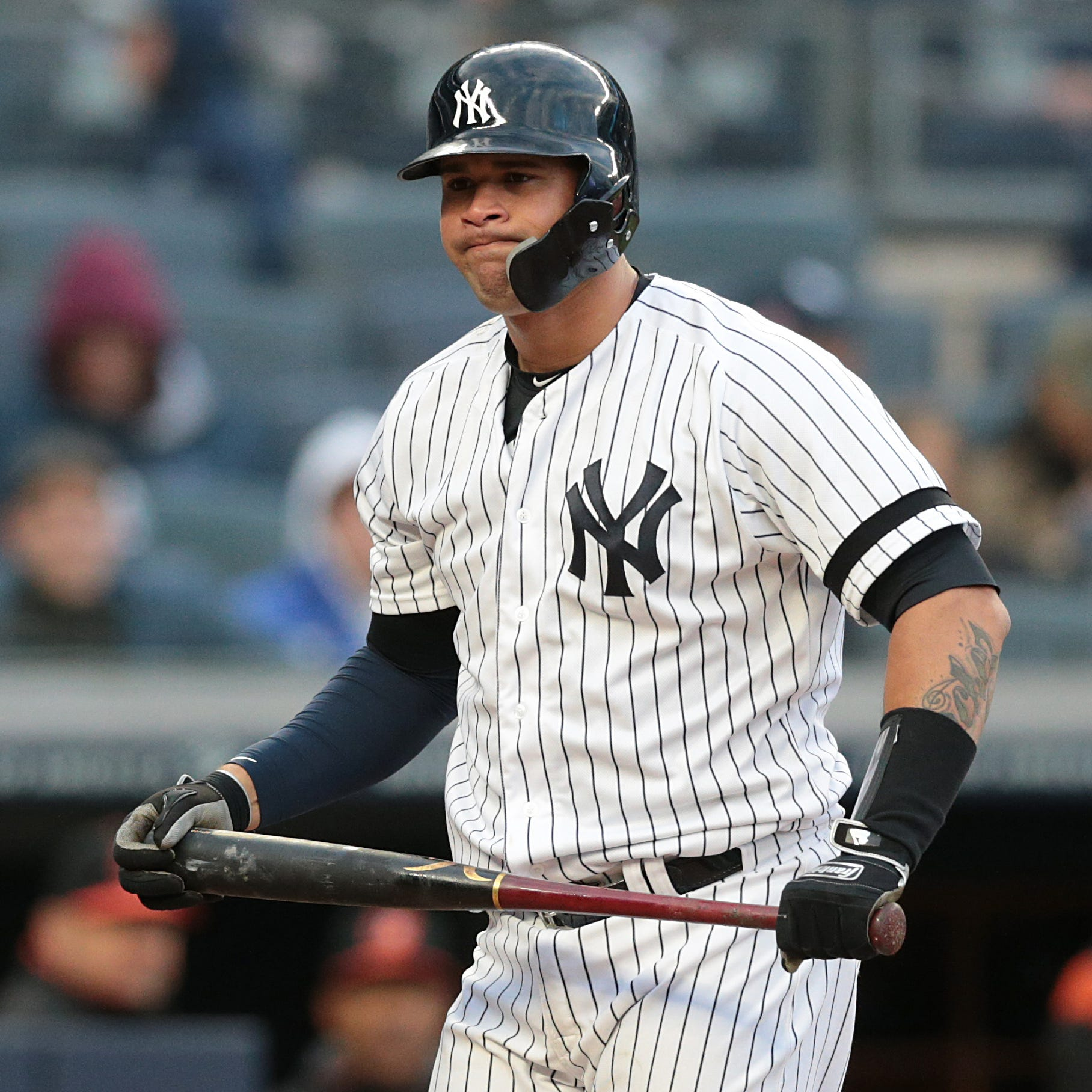 Yankees place Gary Sanchez on injured list, call up catcher Kyle Higashioka