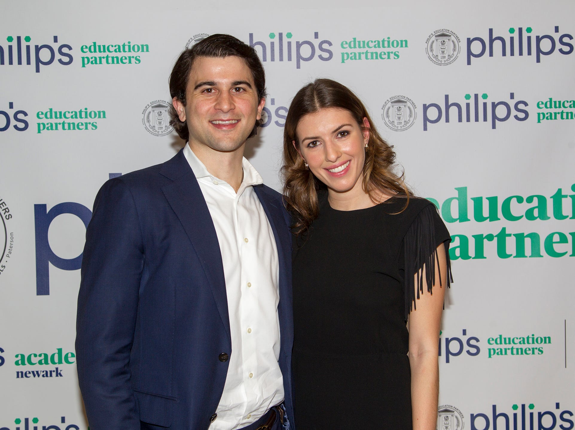 Alexander Masucci and Louisa Costa. Philip's Education Partners host The Dream Maker 30th anniversary gala at The Mezzanine in Newark 3/29/2019.