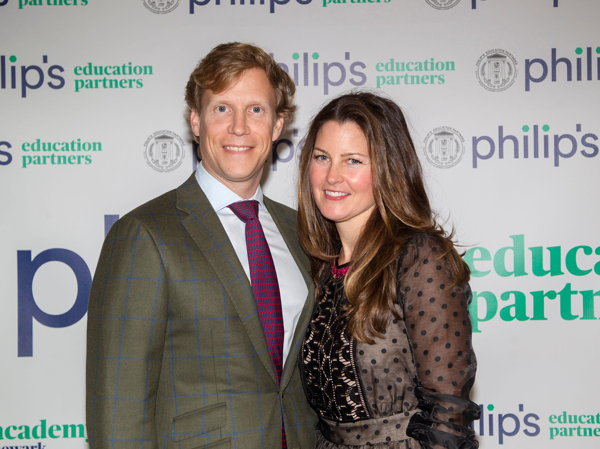 Erik and Megan Young. Philip's Education Partners host The Dream Maker 30th anniversary gala at The Mezzanine in Newark 3/29/2019.