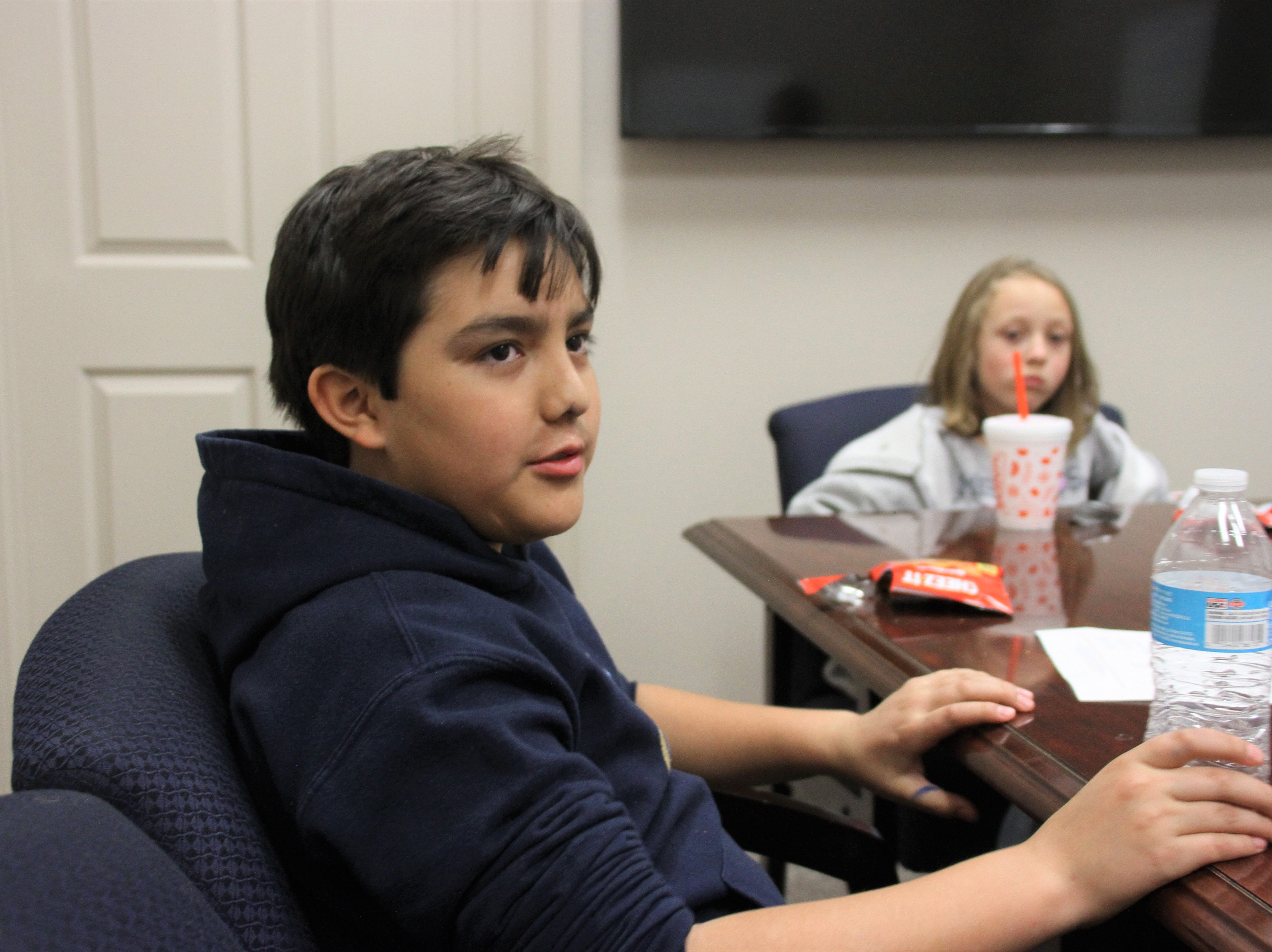 Jacob Mesta, 11, of Ruben S. Torres Elementary School.