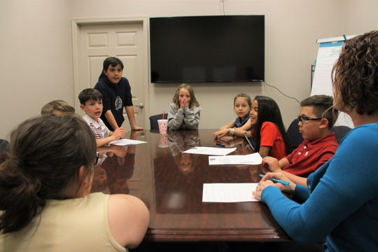 The student discussion group was facilitated by New Mexico State University Assistant Professor Stacey Duncan.