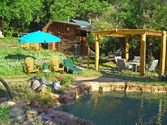 Residing peacefully amidst the breathtaking Jemez Mountains of northern New Mexico, and nestled in the heart of the village of Jemez Springs, is where you'll find the Jemez Hot Springs, Home of The Giggling Springs.