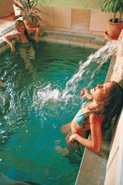 Sierra Grande Lodge & Spa rests upon a natural geothermal spring. The healing hot spring waters, which rise at temperatures reaching up to 107 degree, provide pure, untreated geothermal water, rich in beneficial minerals, to our Spa's multiple private pools.