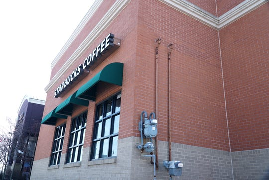 This Starbucks along Novi Road in the West Oaks shopping place, in Novi, is hoping to expand and add a drive through system.
