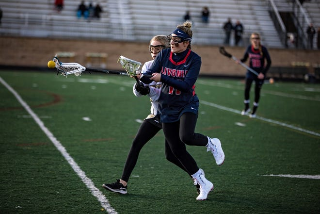 Livonia United's Maddy Champagne scored 28 goals in five games last week.