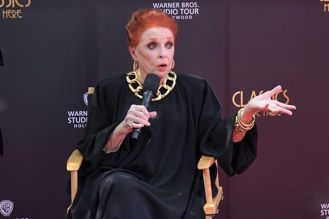 Carole Cook speaks at Warner Bros. Studios on April 4, 2018, in Burbank.