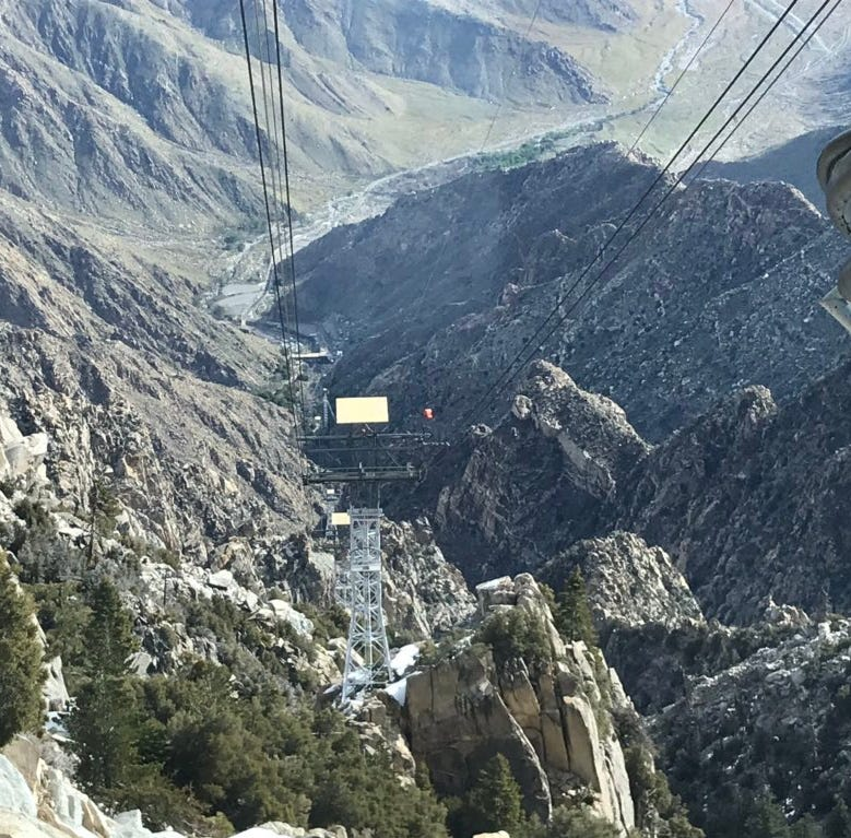 Palm Springs Aerial Tramway resumes service after being battered by February storm