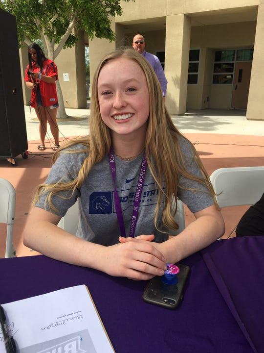 Erin Morden, Shadow Hills gymnast