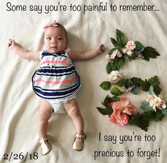Baby Aspen Jayne Hause was coming up on her 8-month birthday when she tragically died while under the care of her father in Mary Esther. Aspen's life is being memorialized this Sunday, April 7 at Aspen's Butterfly Ball in Gulf Breeze.