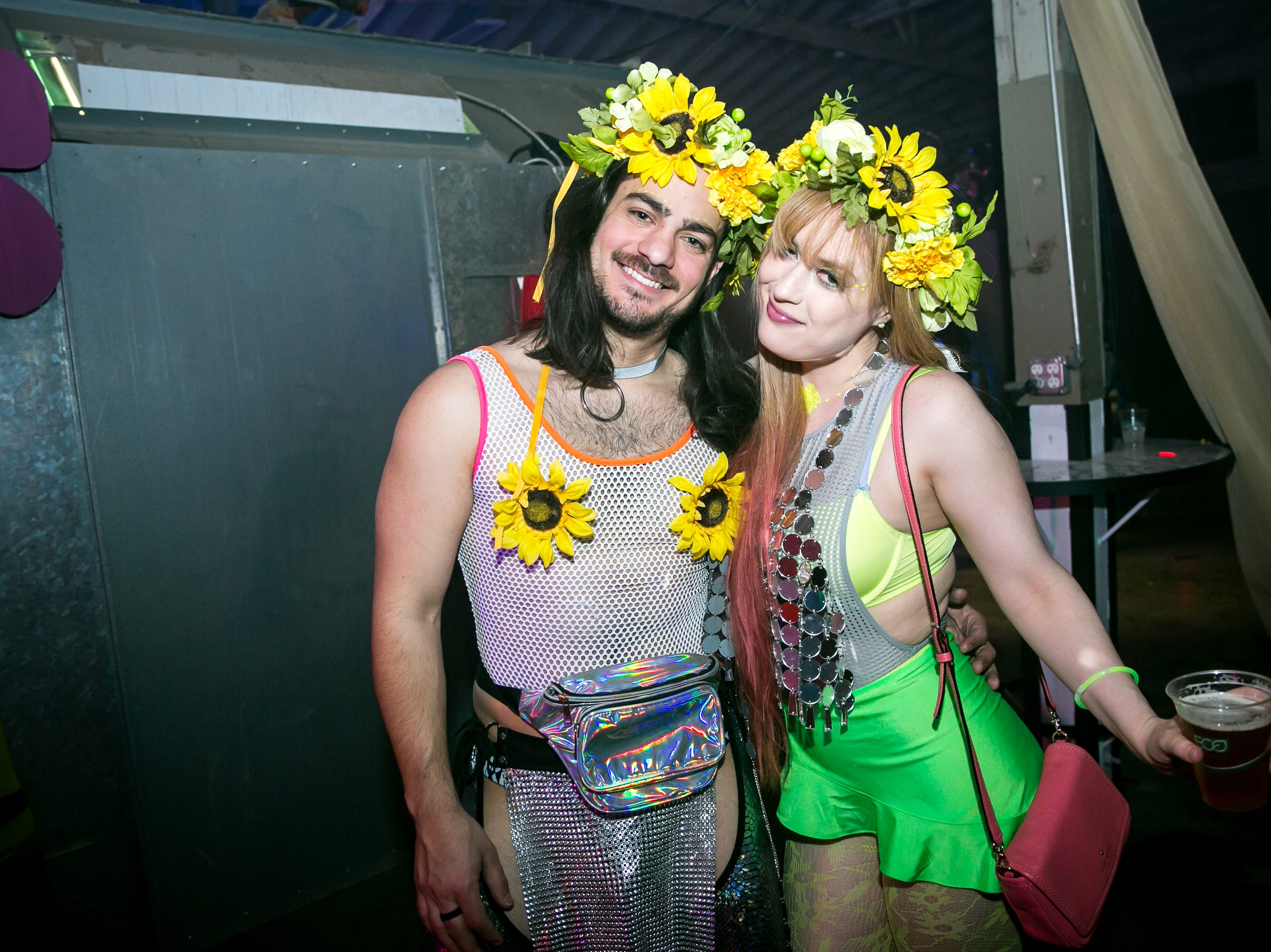 These two looked amazing during Bloom at The Where?House Gallery on March 30, 2019.