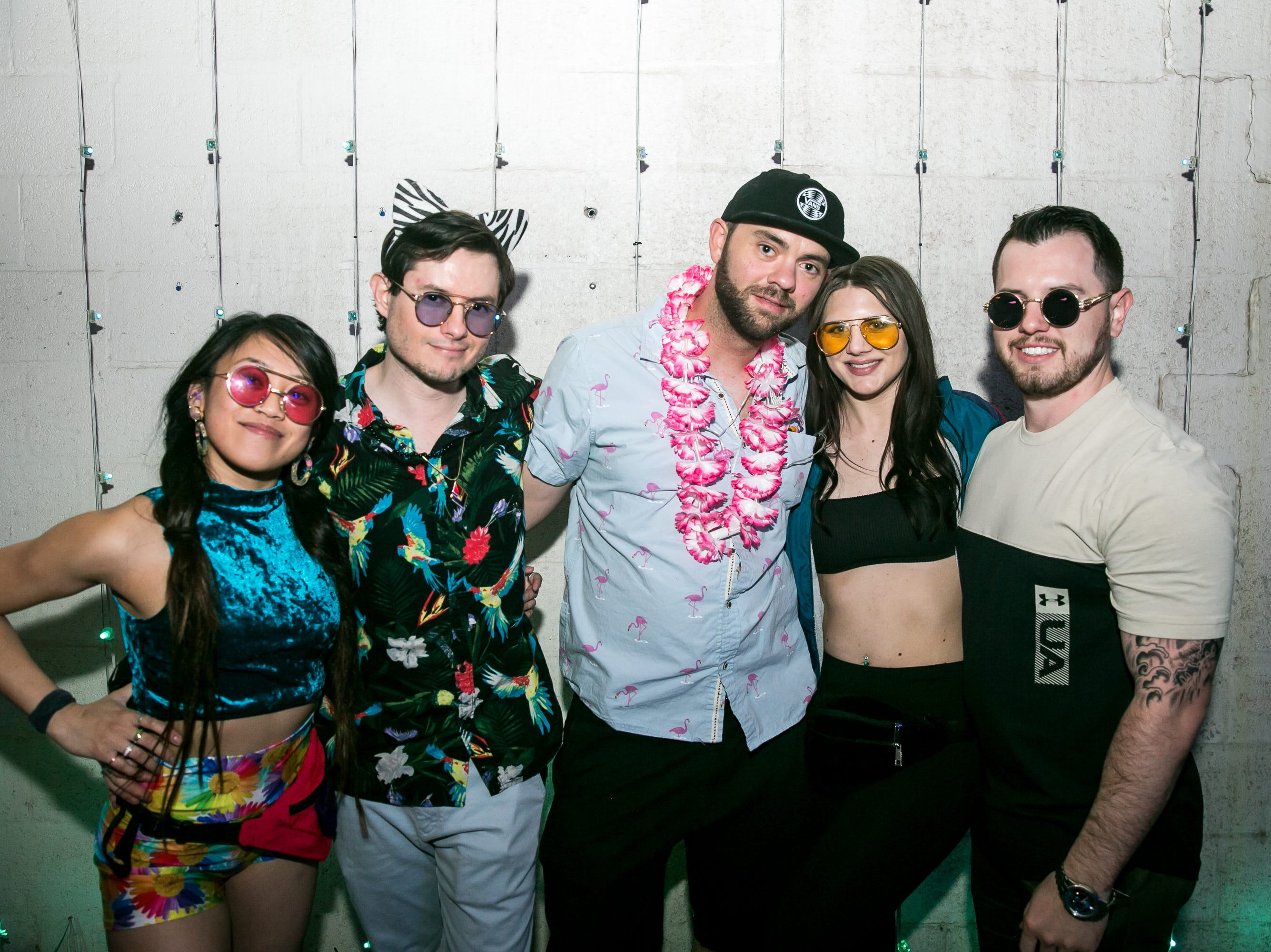 This group looked great during Bloom at The Where?House Gallery on March 30, 2019.