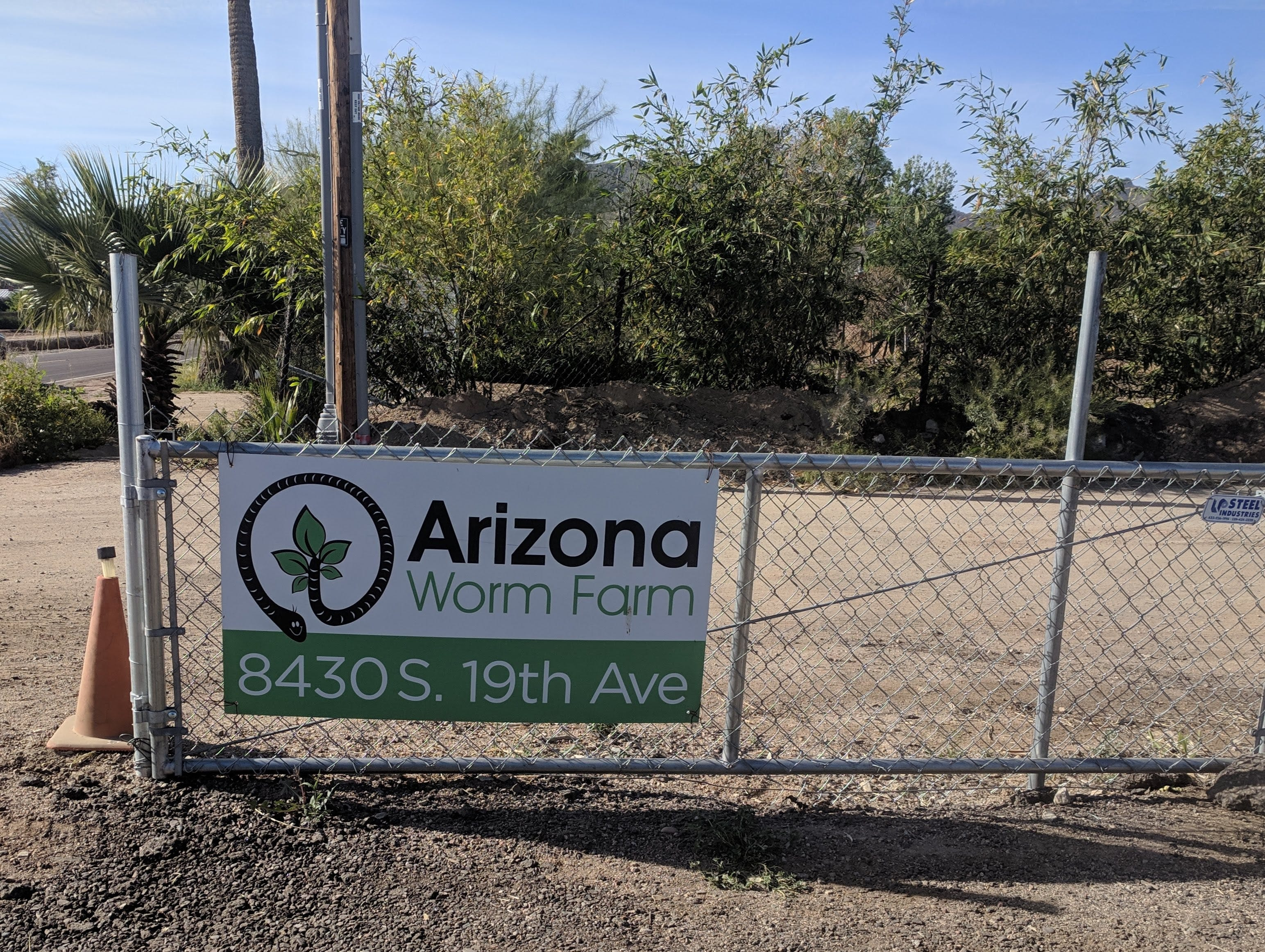 The Brooks spend their weekends in a farmhouse they built near South Mountain where their Arizona Worm Farm is located.