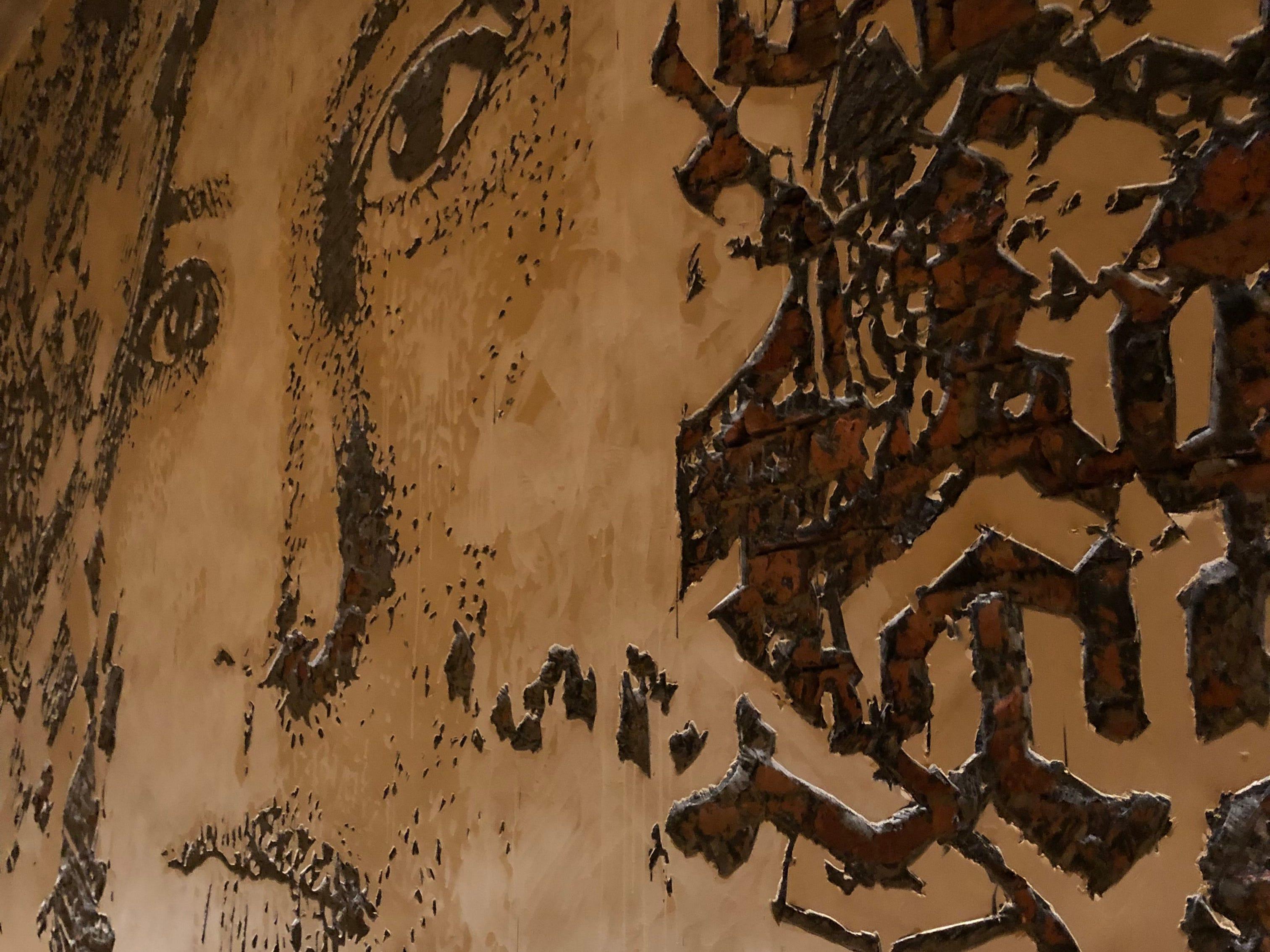 Artwork in the Greene St. Kitchen in the Palms Casino Resort in Las Vegas.