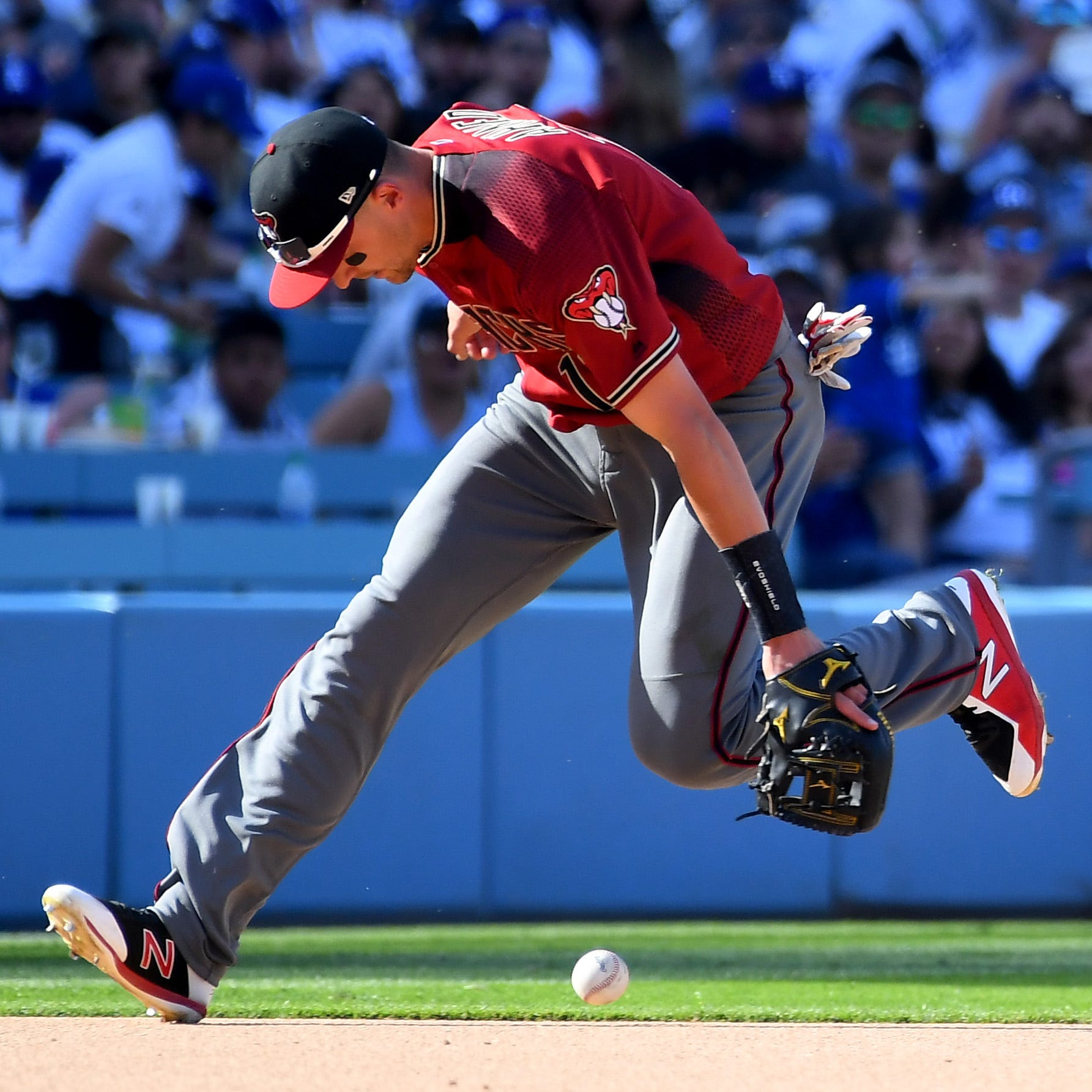 Diamondbacks' rotation, defense surprisingly to blame for opening-series loss to Dodgers