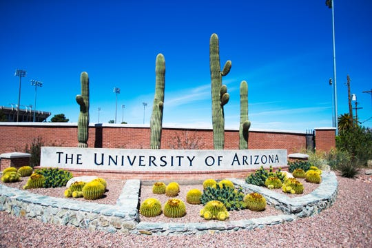 Two students at the University of Arizona were charged with misdemeanors after a video showing them protesting a Customs and Border Protection event on campus went viral.