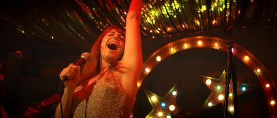 "Rose Lynn Harlan (Jessie Buckley) dreams of becoming an American star in ""Wild Rose."""