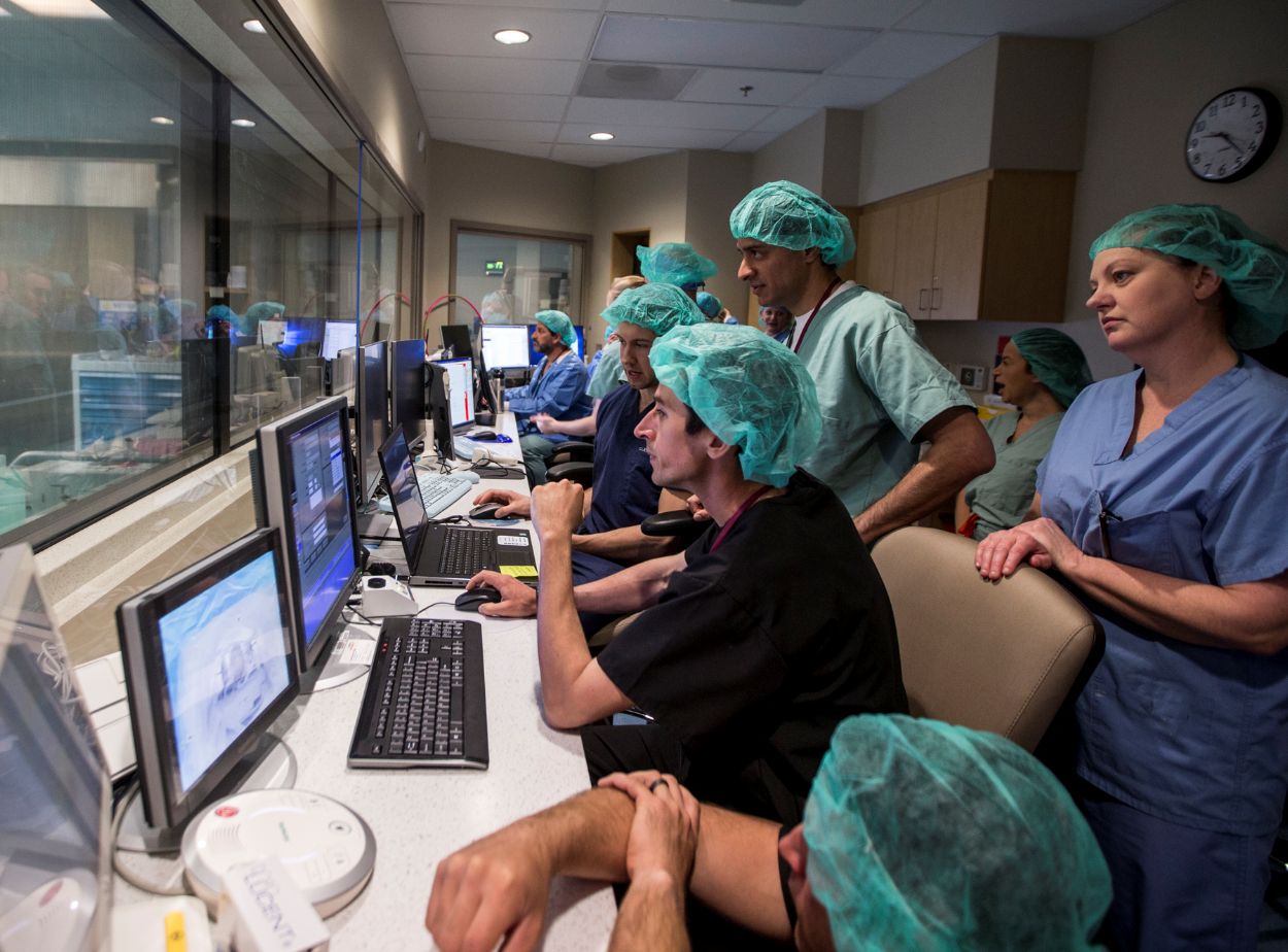 Medical staff are trained in a new MRI facility on Friday, Mar. 29, 2019, at Mayo Clinic in Phoenix.