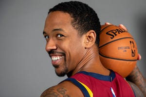 Cavaliers center Channing Frye announced in March that this would be his final NBA season.