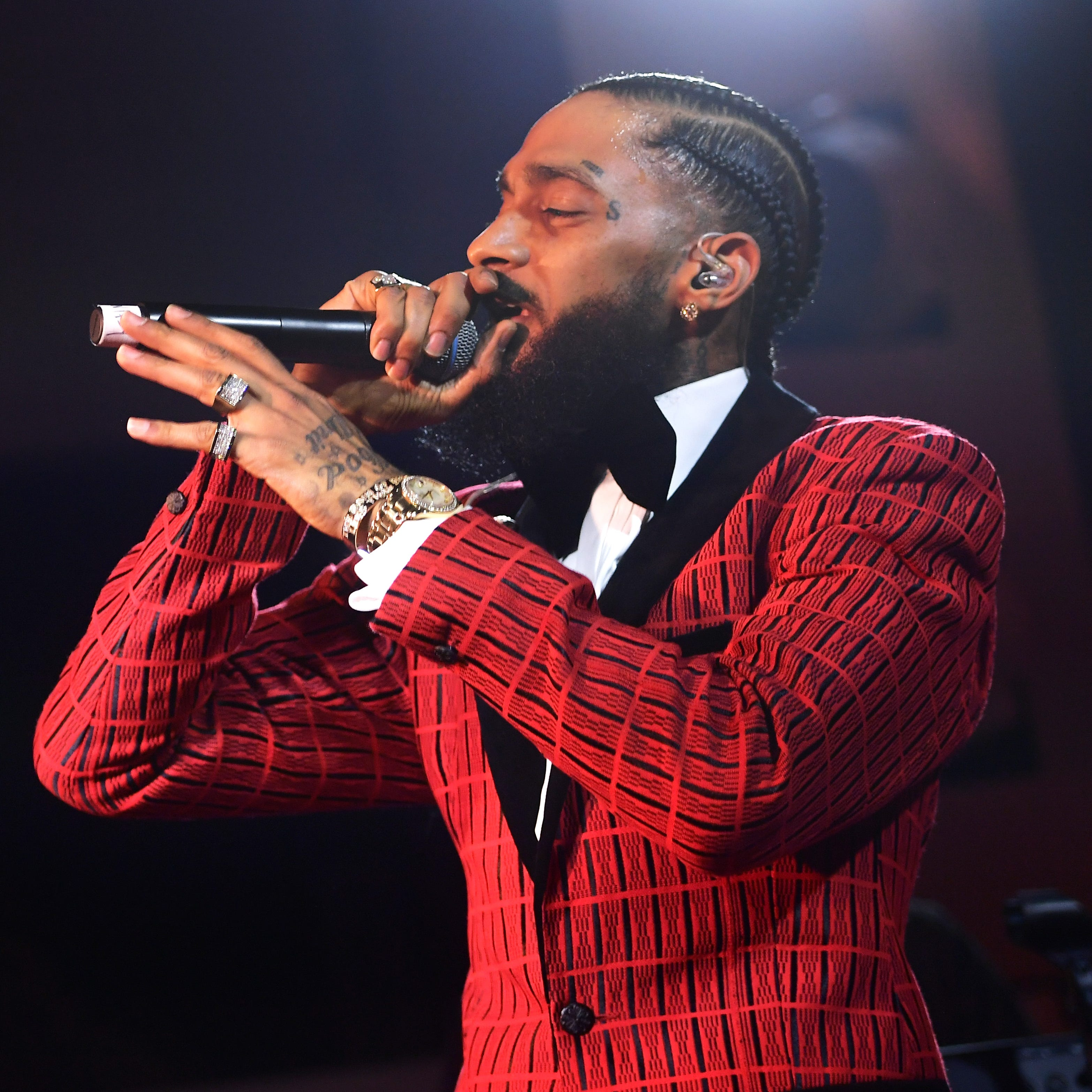 Slain rapper Nipsey Hussle spoke against gun violence in Arizona, planned LAPD summit on gang violence