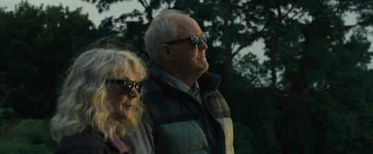 "John Lithgow and Blythe Danner star in drama-romance ""The Tomorrow Man."""