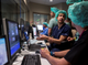 Matt Rabon, Senior Clinical Specialist for MRI Interventions, trains medical staff in a new MRI Facility on Friday, Mar. 29, 2019, at Mayo Clinic in Phoenix.