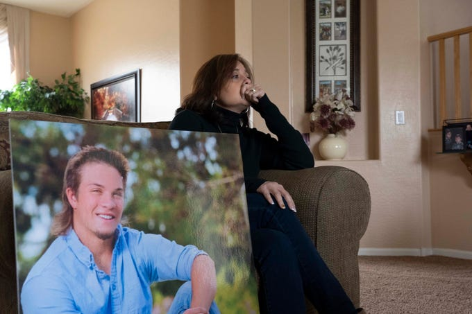 Annette and Terry Mahan are trying to save others in the opioid crisis. The Mahan's lost their son Danny, who was a star receiver on Chandler's first state championship football team in 2014, to a fentanyl overdose.