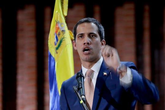Juan Guaidó, líder de la oposición en Venezuela.