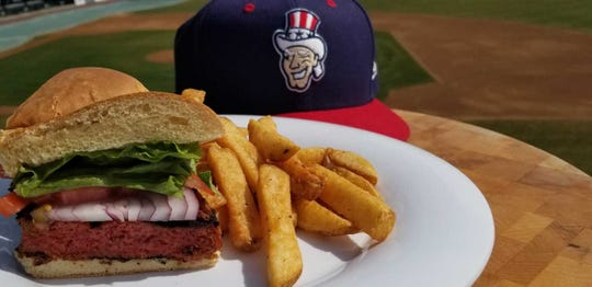 "The Senators are jumping on the health-kick bandwagon as well with a Beyond burger, the plant-based burger that ""looks, cooks and tastes like beef."""